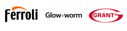 Ferroli Glow worm and Grant Logos