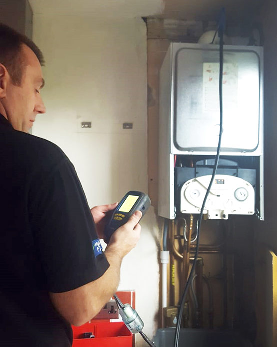 Gas Boiler Safety Check